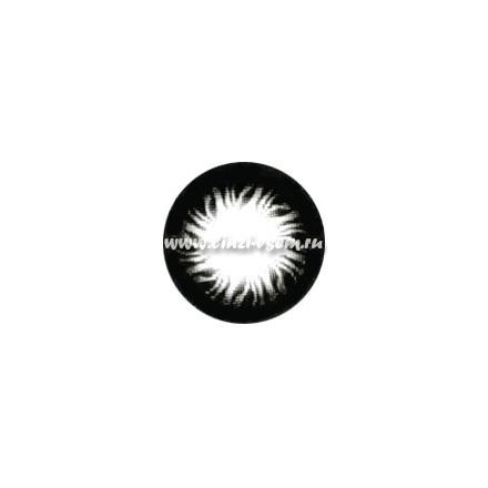 Цветные линзы Dreamcon Flame Black Фото 3