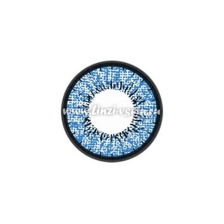 Цветные линзы EOS J203 Blue Фото 4