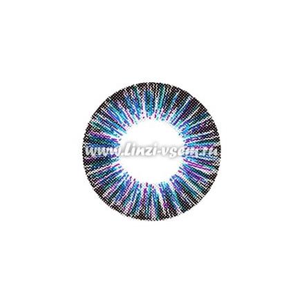 Цветные линзы EOS Neon Sign Blue Фото 3