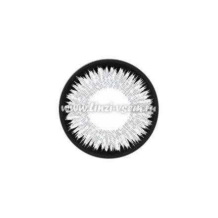 Цветные линзы Lensmam Silver Shine Фото 5