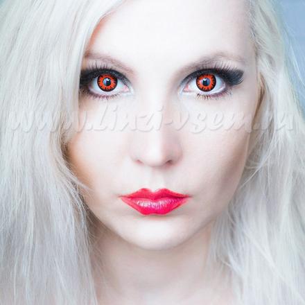 Карнавальные линзы Lensmam Volturi Фото 3