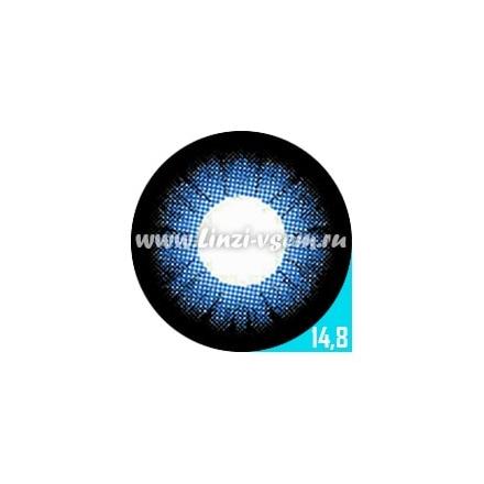 Цветные линзы EOS 204 Blue Фото 5