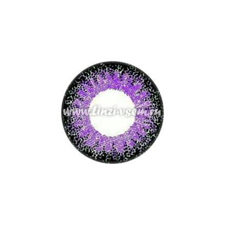 Цветные линзы EOS J211 Violet Фото 5