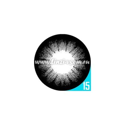Цветные линзы EOS SBK1 Black Фото 4
