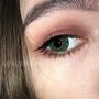 Цветные линзы EOS Daisy 3T Green Фото 3