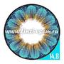Цветные линзы EOS Daisy 3T Blue Фото 3