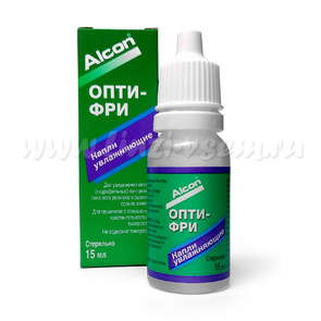 Капли Alcon Opti-Free rewetting drops