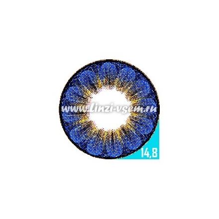 Цветные линзы EOS Daisy 3T Sapphire Фото 3