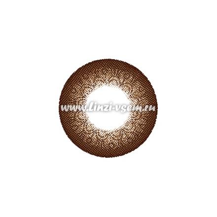 Цветные линзы EOS Latte Brown Фото 3