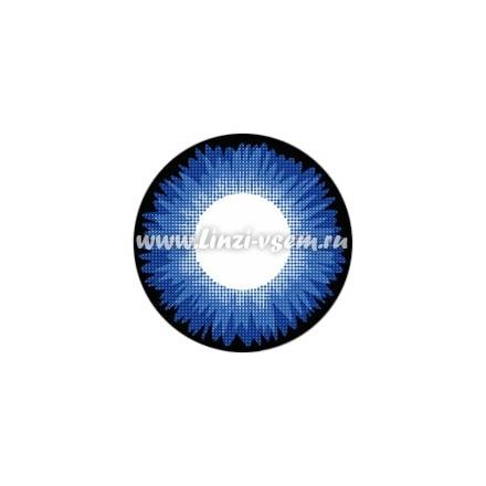 Цветные линзы Lensmam Space Blue Фото 3