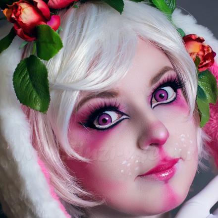 Карнавальные линзы Lensmam Violet Elf Фото 2
