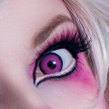 Карнавальные линзы Lensmam Violet Elf