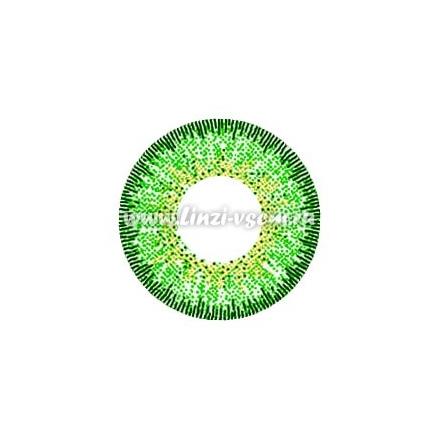 Цветные линзы EOS J324 Green Фото 4