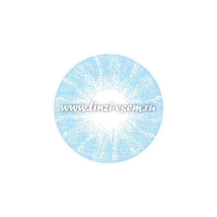 Цветные линзы EOS Bubbly Blue фото 3
