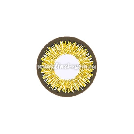 Цветные линзы Lensmam Golden Shine Фото 5