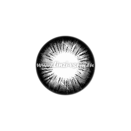 Цветные линзы EOS V Check Black Фото 4