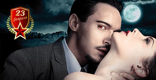 Цветные линзы вампира на 23 февраля от интернет-магазина Линзы-Всем