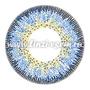 Цветные линзы EOS J324 Blue Фото 4